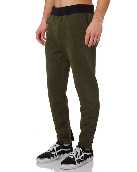 OLIVE CANVAS HEATHER OUTLET MENS HURLEY PANTS - AJ2223394