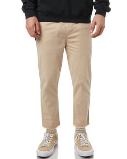 TAN MENS CLOTHING STUSSY PANTS - ST071613TAN