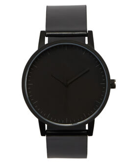 BLACK BLACK MENS ACCESSORIES SIMPLE WATCH CO WATCHES - SW01-08BLK