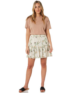 STONE FLORAL WOMENS CLOTHING O'NEILL SKIRTS - 5921602STF