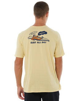 LEMON WASH OUTLET MENS HURLEY TEES - AJ1771721