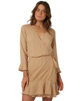 SAND WOMENS CLOTHING RHYTHM DRESSES - OCT18W-DR08SAN