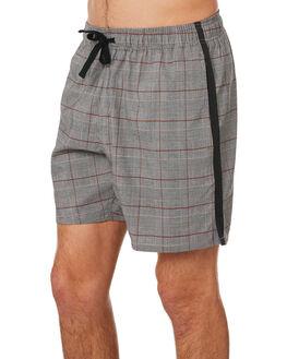 GREY CHECK MENS CLOTHING ZANEROBE SHORTS - 603-RSPGRYCH