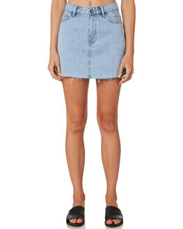 REAL BLUE WOMENS CLOTHING LEE SKIRTS - L-656615-766