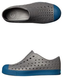 DUBLIN GREY BLUE KIDS BOYS NATIVE FOOTWEAR - 12100100-1264