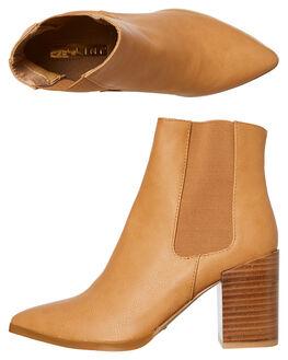 CAMEL WOMENS FOOTWEAR BILLINI BOOTS - B930CAMEL