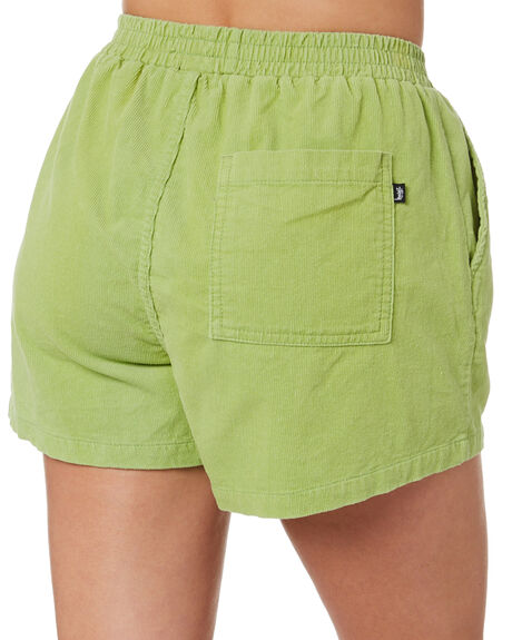 LIME WOMENS CLOTHING STUSSY SHORTS - ST193603LME