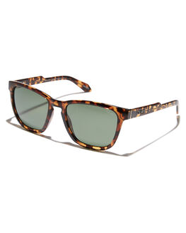 TORT GREEN MENS ACCESSORIES QUAY EYEWEAR SUNGLASSES - QM-000313-TRTGN