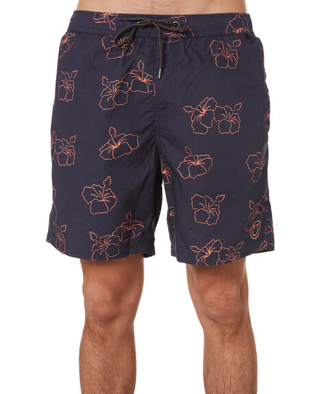 INK CORAL MENS CLOTHING STAY BOARDSHORTS - SBO-1903INCR