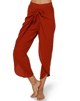 NUTMEG WOMENS CLOTHING BILLABONG PANTS - BB-6591407-N53