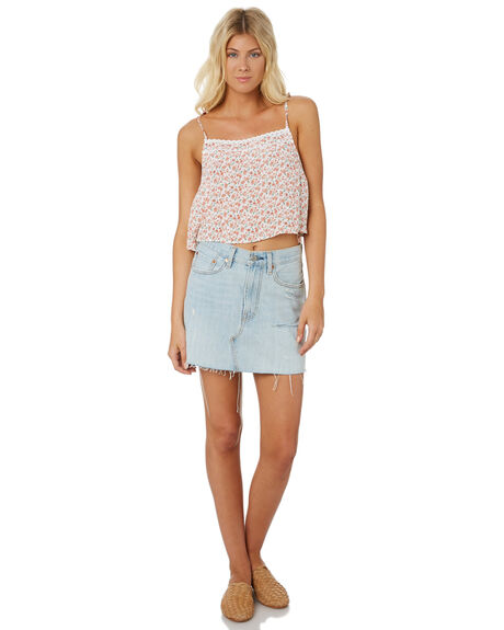 WHITE OUTLET WOMENS THE HIDDEN WAY FASHION TOPS - H8182271WHITE