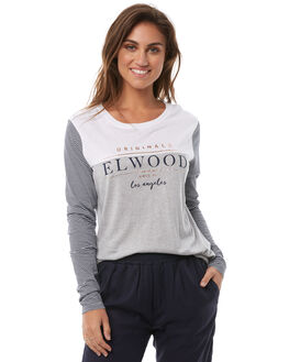 WHITE WOMENS CLOTHING ELWOOD TEES - W82108653