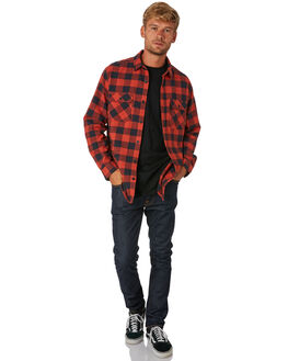 BITTERS HEATHER MENS CLOTHING BURTON SHIRTS - 14053109602BTRHT