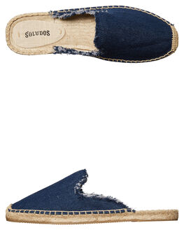 DARK DENIM WOMENS FOOTWEAR SOLUDOS FLATS - 1000205403