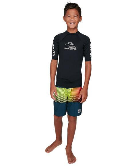 BLACK BOARDSPORTS SURF QUIKSILVER BOYS - EQBWR03139-KVJ0