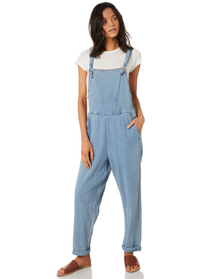 THRIFTED BLUE WOMENS CLOTHING RUSTY PLAYSUITS + OVERALLS - MCL0291THB