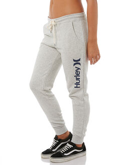 6638d9e7713b GREY HEATHER WOMENS CLOTHING HURLEY PANTS - AGPTOC1705A45B. HURLEY 1 One  And Only Cuffed Womens Track Pant