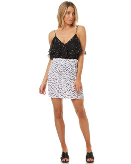 WHITE W BLACK WOMENS CLOTHING THE FIFTH LABEL SKIRTS - 40170930-1101
