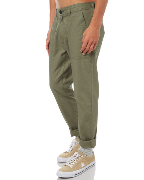 OLIVE MENS CLOTHING RHYTHM PANTS - OCT17M-PA01-OLI