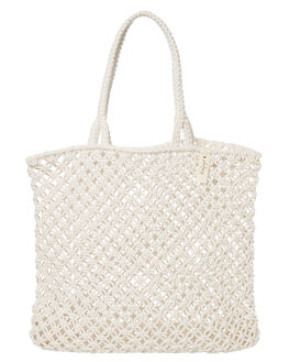 WHITE WOMENS ACCESSORIES THE BEACH PEOPLE BAGS + BACKPACKS - BG-L05-03-OWHT