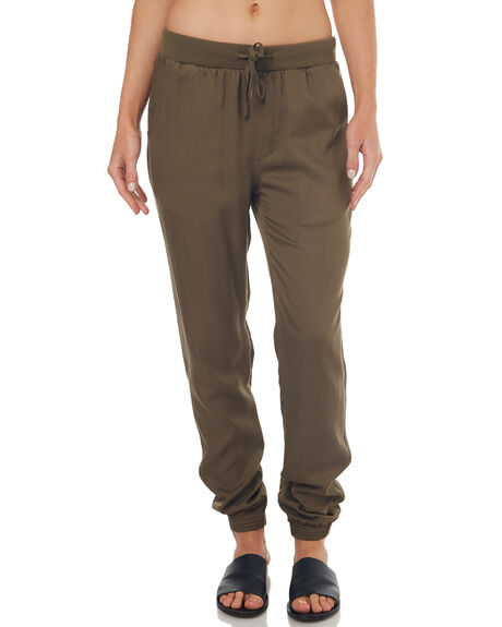 OLIVE WOMENS CLOTHING SWELL PANTS - S8171195OLIVE