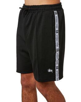 BLACK MENS CLOTHING STUSSY SHORTS - ST083612BLK
