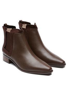 CHOC WOMENS FOOTWEAR SOL SANA BOOTS - SS202W413CHOC