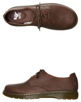 DARK BROWN WOMENS FOOTWEAR DR. MARTENS BOOTS - SS20392201DBRNW