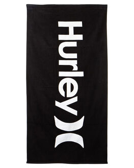BLACK MENS ACCESSORIES HURLEY TOWELS - HU0027010