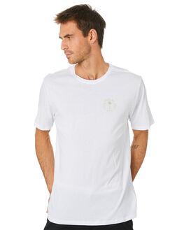 WHITE MENS CLOTHING HURLEY TEES - MTSPPALG100