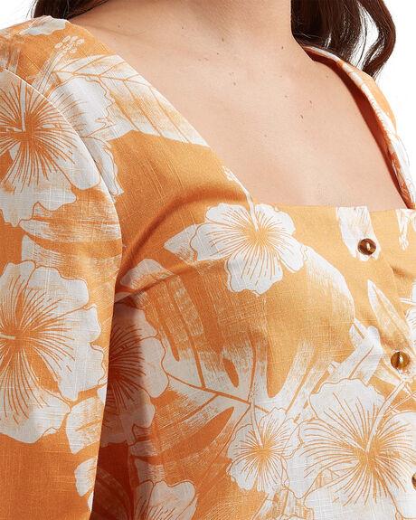 APRICOT TAN VENTURA WOMENS CLOTHING ROXY FASHION TOPS - URJWT03048-NJN6
