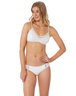 WHITE WOMENS SWIMWEAR JETS BIKINI TOPS - J40052WHT