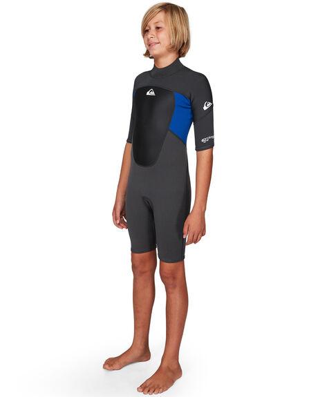 JET BLACK/NITE BLUE BOARDSPORTS SURF QUIKSILVER BOYS - EQBW503008-XKBB