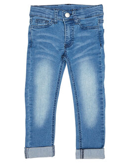 BLUE KIDS TODDLER BOYS ROCK YOUR BABY JEANS - TUP1822-BBLU