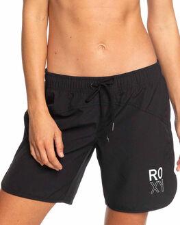 ANTHRACITE WOMENS CLOTHING ROXY SHORTS - ERJBS03143-KVJ0