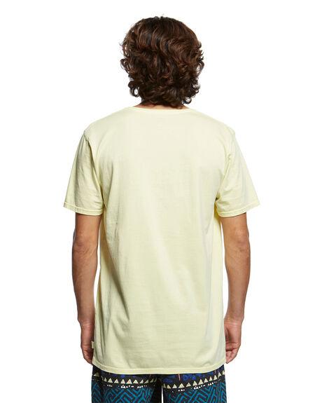 YELLOW IRIS MENS CLOTHING QUIKSILVER TEES - EQYKT03902-YZJ0