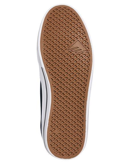 NAVY WHITE MENS FOOTWEAR EMERICA SNEAKERS - 6102000122-472