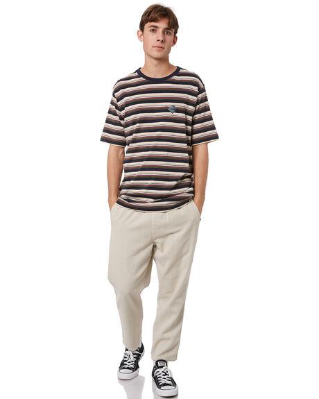 MULTI STRIPE MENS CLOTHING RPM TEES - 21WM01B1MLTST