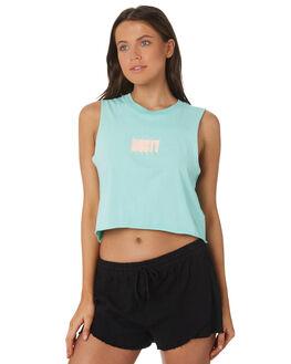 MINT LEAF WOMENS CLOTHING RUSTY SINGLETS - MSL0179-MLF