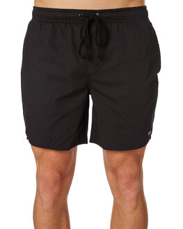 BLACK MENS CLOTHING AFENDS BOARDSHORTS - M183359BLK