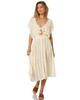HONEY WOMENS CLOTHING RUSTY DRESSES - DRL0945HON