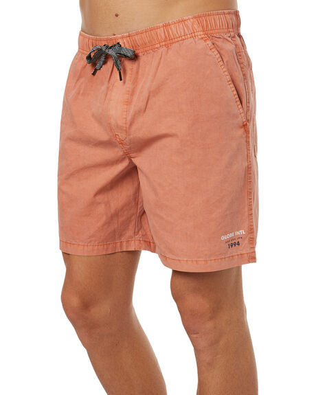 DUSTY CORAL MENS CLOTHING GLOBE SHORTS - GB01726005DCRL