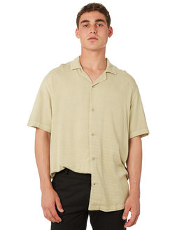 PALE OLIVE MENS CLOTHING INSIGHT SHIRTS - 1000076385POLV