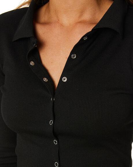 BLACK OUTLET WOMENS SNDYS FASHION TOPS - SET123BLK