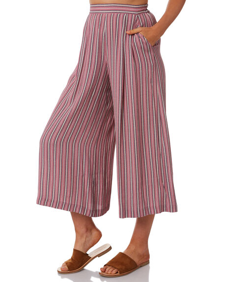 RED WOMENS CLOTHING TIGERLILY PANTS - T381374RED