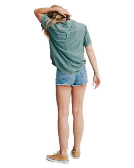 STORMY SEA WOMENS CLOTHING QUIKSILVER FASHION TOPS - EQWWT03002-BLH0