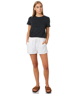 WHITE OUTLET WOMENS RIP CURL SHORTS - GWAEZ11000