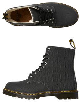 BLACK MENS FOOTWEAR DR. MARTENS BOOTS - SS23333001BLKM
