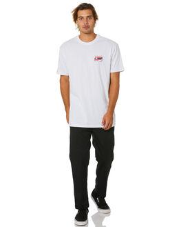 WHITE MENS CLOTHING HUFFER TEES - MTE01S4035WHT