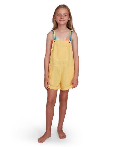 SUNFLOWER KIDS GIRLS BILLABONG DRESSES + PLAYSUITS - BB-5504521-SNF